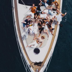 Moet Society party at Maoro Yacht