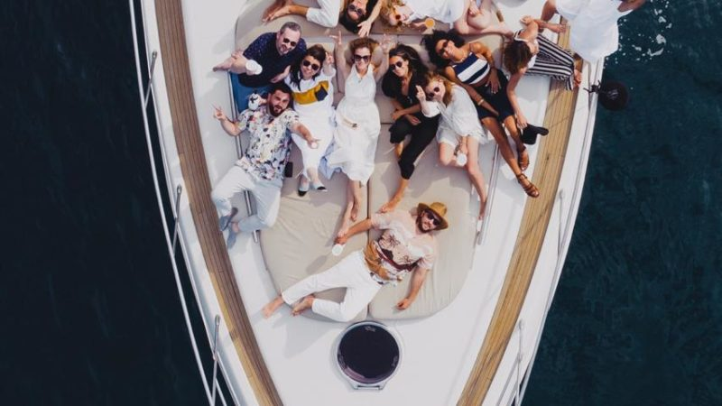 Moet Society party at Maoro Yacht